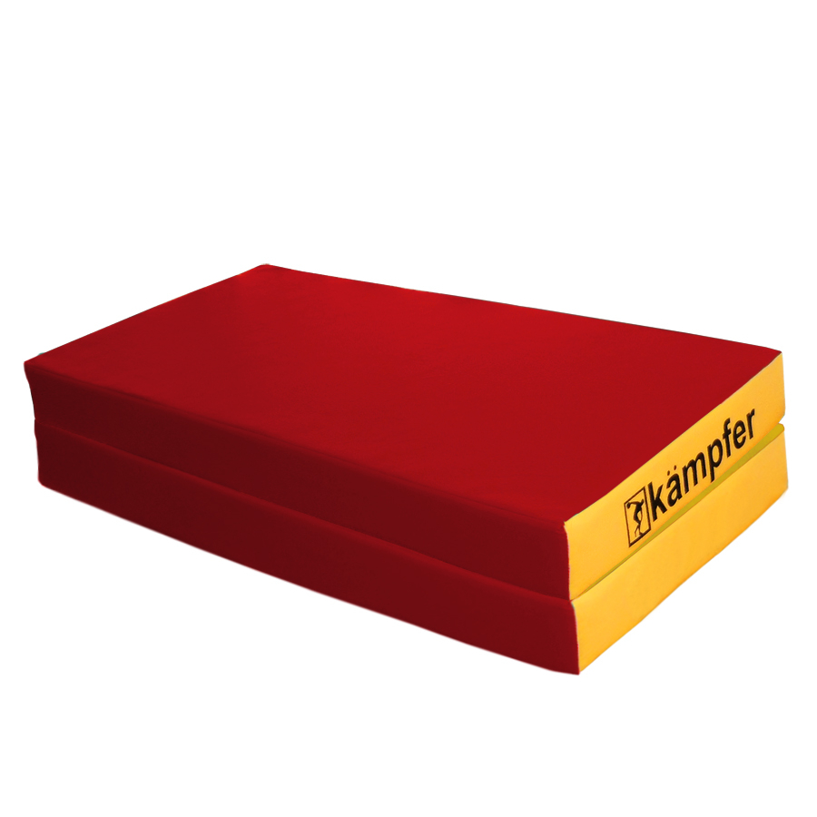 Мат Kampfer mat 4 red, красный, желтый цены