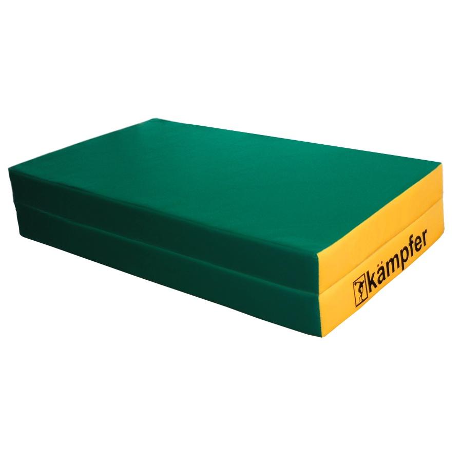 Мат Kampfer mat 4 green, зеленый, желтый цены