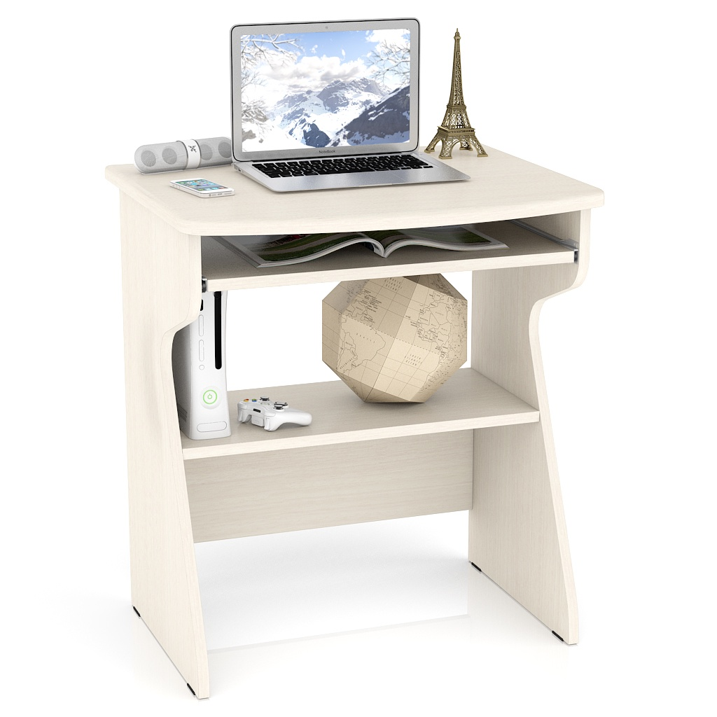 Компьютерный стол Мебельный Двор С-МД-СК1, цвет дуб