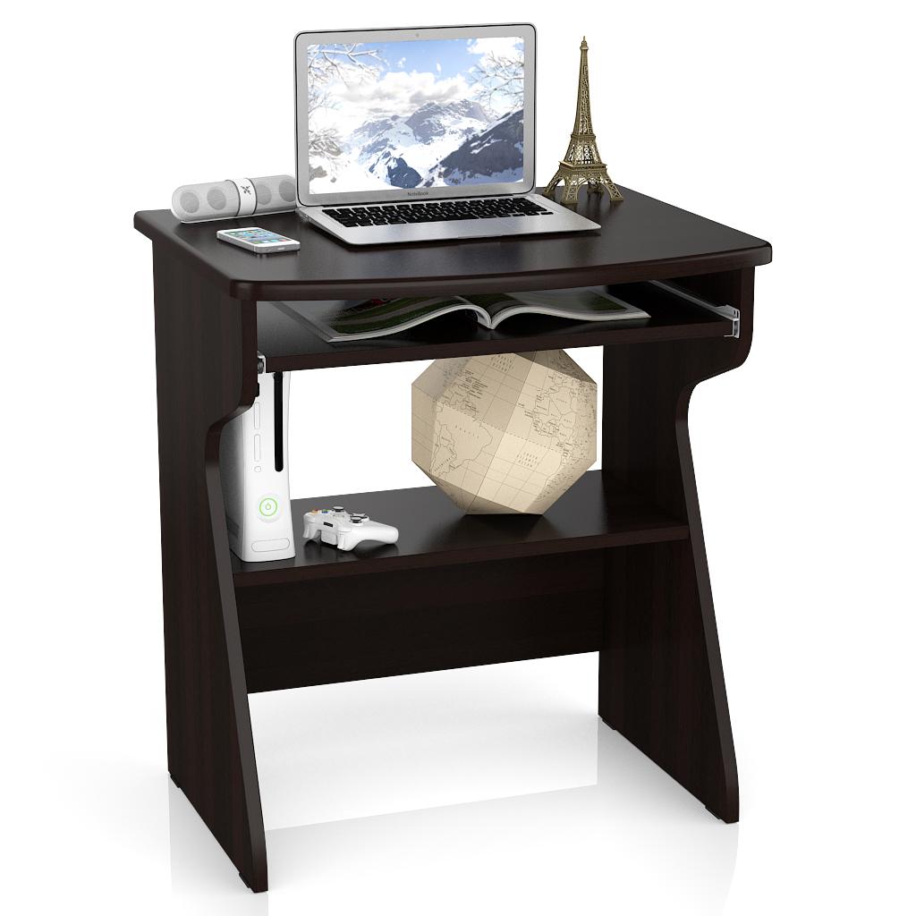 Компьютерный стол Мебельный Двор С-МД-СК1, цвет венге
