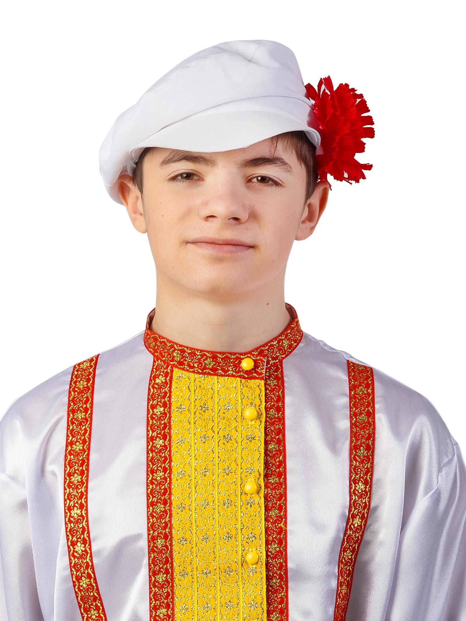 Аксессуар для карнавального костюма Gala-Вальс картуз, белый купить женский картуз