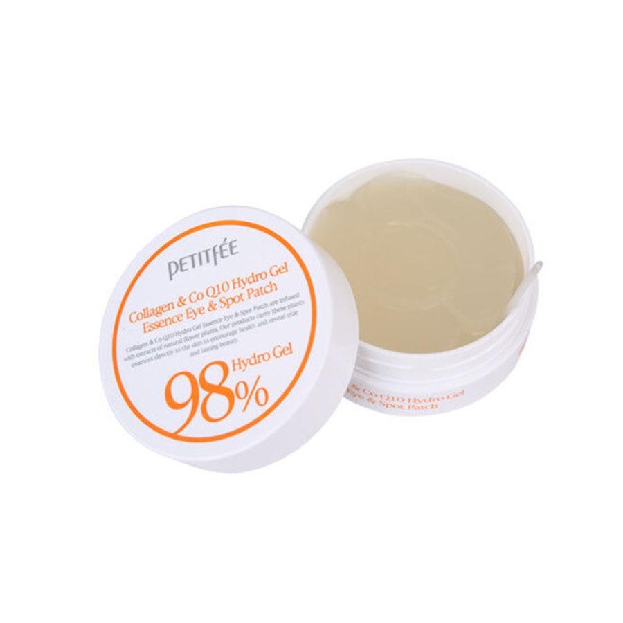 Патчи Petitfee Гидрогелевые с коллагеном Hydro Gel Eye Patch Collagen CoQ10 coq10 для кожи