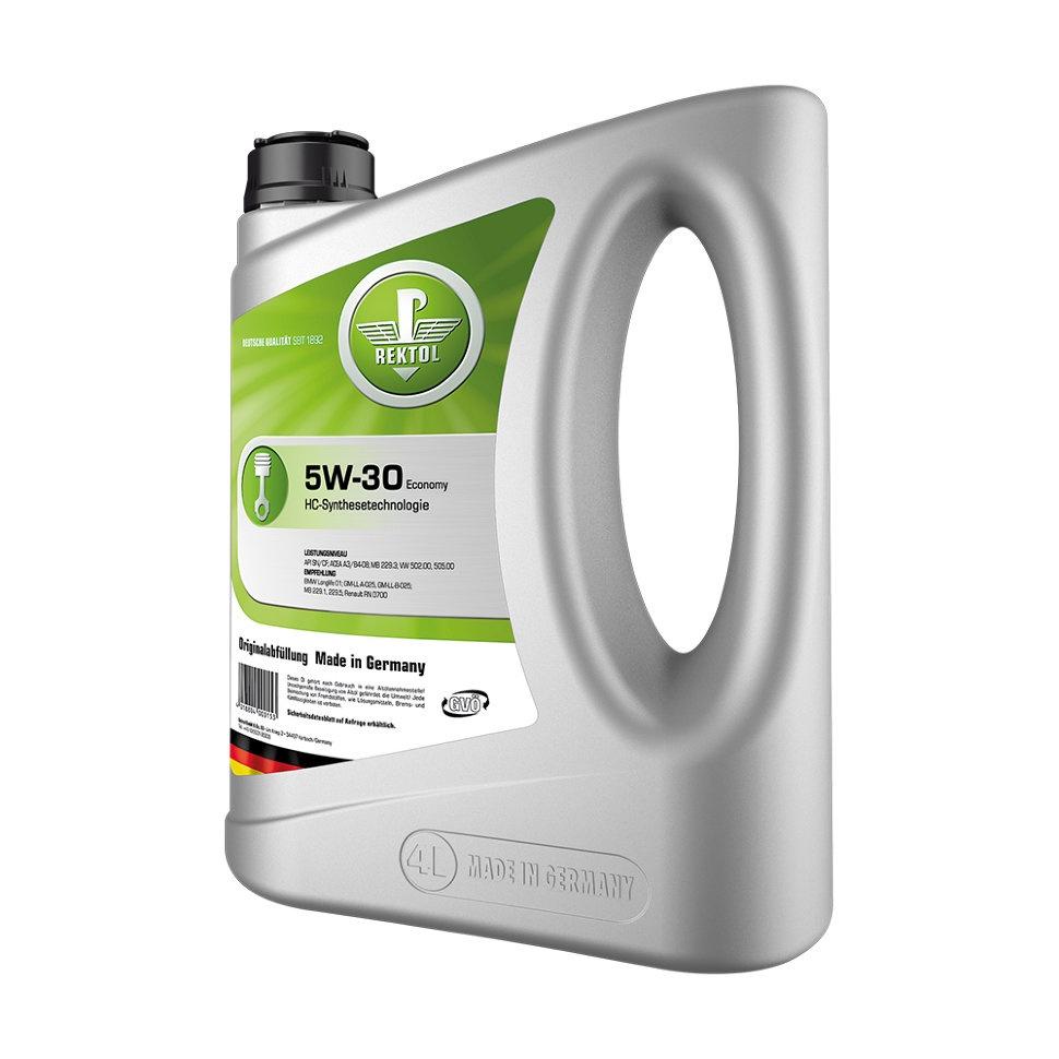 Моторное масло REKTOL 5W-30 Economy gm pb044 b