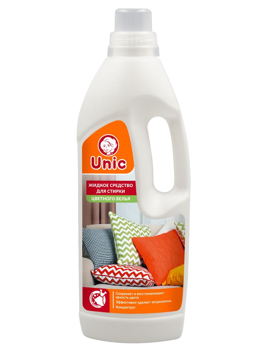 Жидкое средство для стирки UNIC для цветного белья