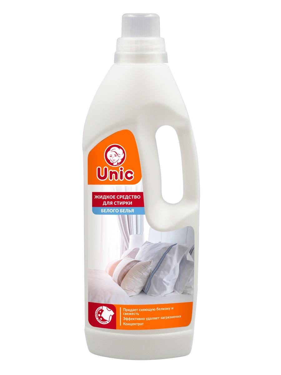 Жидкое средство для стирки UNIC для белого белья