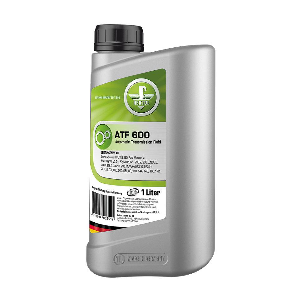 Трансмиссионное масло REKTOL ATF 600 mb 300