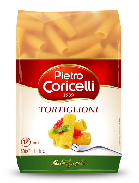 Макароны Pietro Coricelli Тортильони