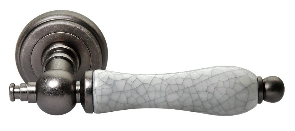 Ручка дверная Morelli MH-42-CLASSIC OMS/GR катушка индуктивности jantzen cross coil 12 awg 2 mm 3 9 mh 0 42 ohm