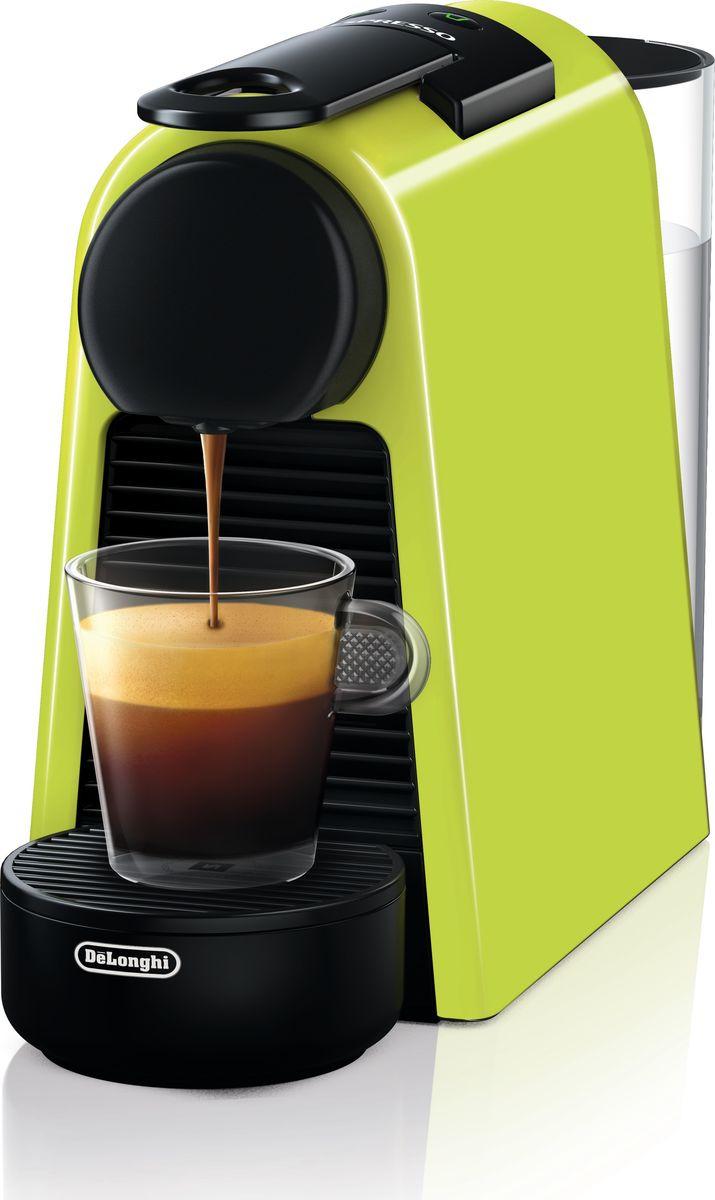 Капсульная кофемашина DeLonghi Nespresso EN85.L, оливковый кофемашина de longhi en 85 rae nespresso