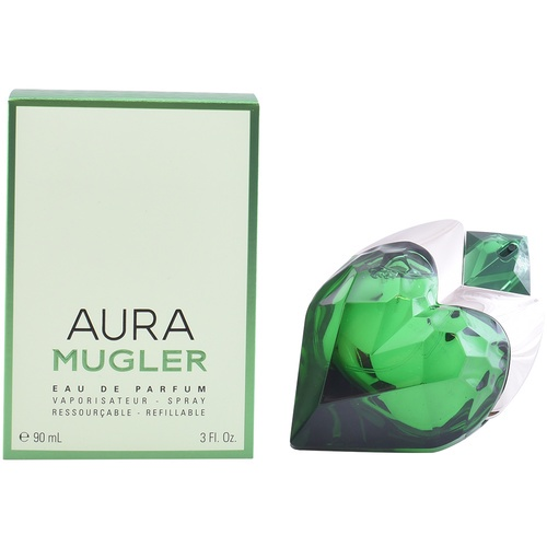 Mugler Aura refillable 90 мл mugler aura парфюмерная вода флакон для повторной заправки aura парфюмерная вода флакон для повторной заправки
