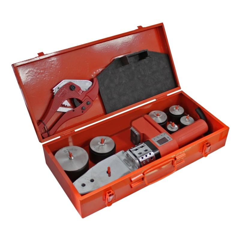 Аппарат для сварки труб RedVerg RD-PW1000D-63 бетономешалка redverg rd cm160n