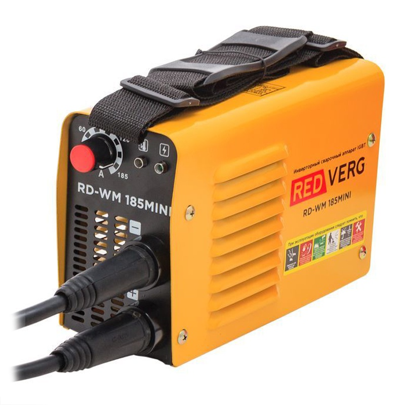 Сварочный аппарат RedVerg RD-WM 185MINI redverg rdmma 160k