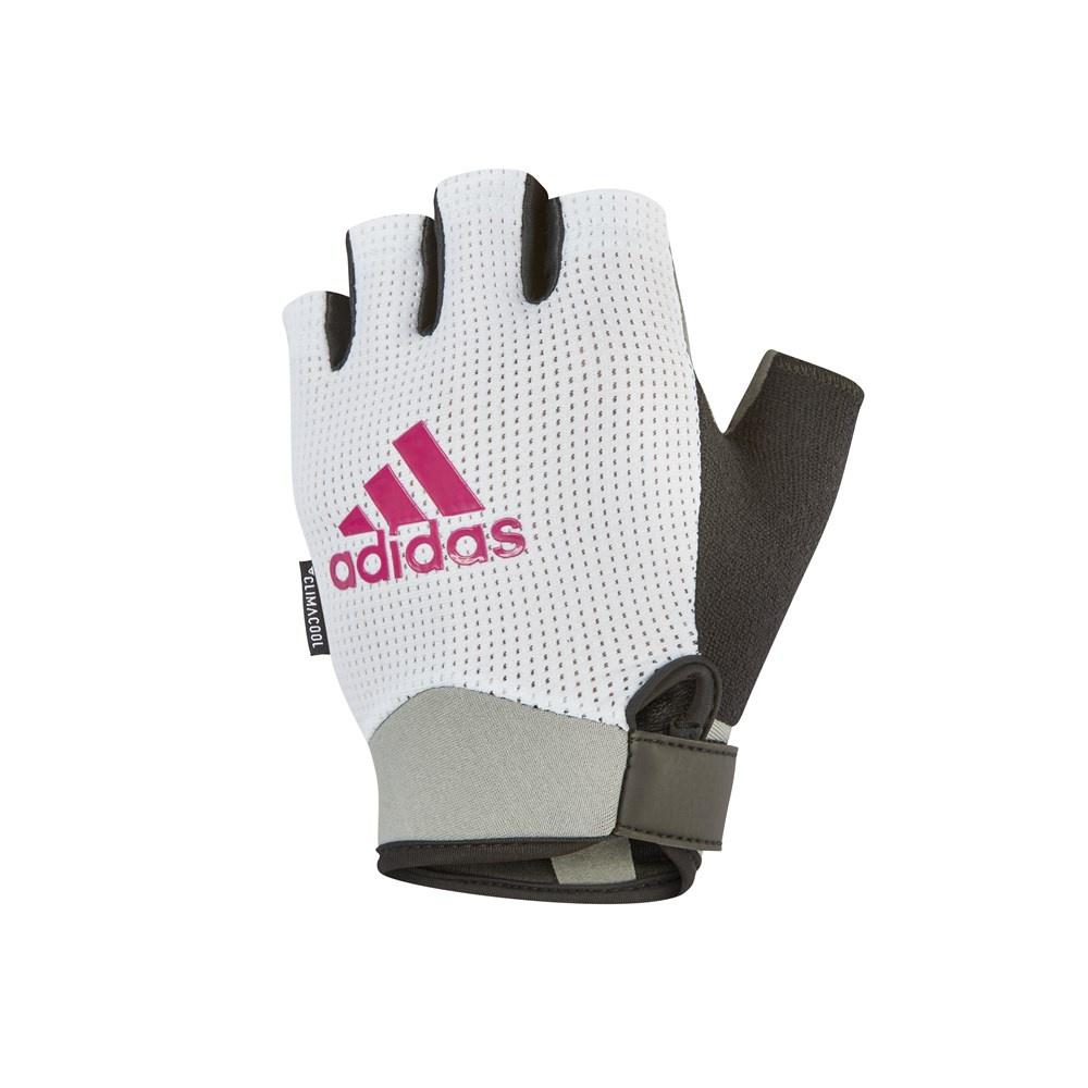 Перчатки для фитнеса Adidas ADGB-13244, белый перчатки adidas для фитнеса белые размер m adgb 12322 wh