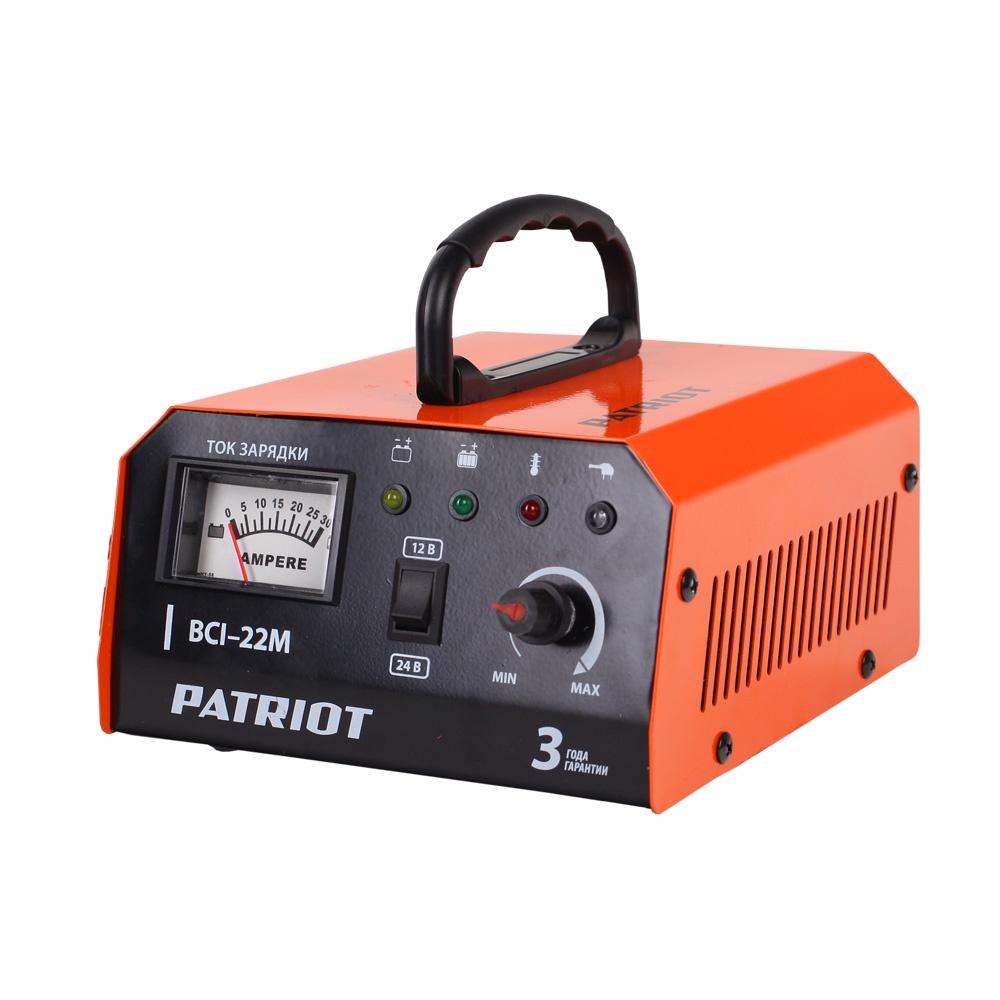 Автомобильное зарядное устройство PATRIOT BCI-22M зарядное устройство patriot bci 10m