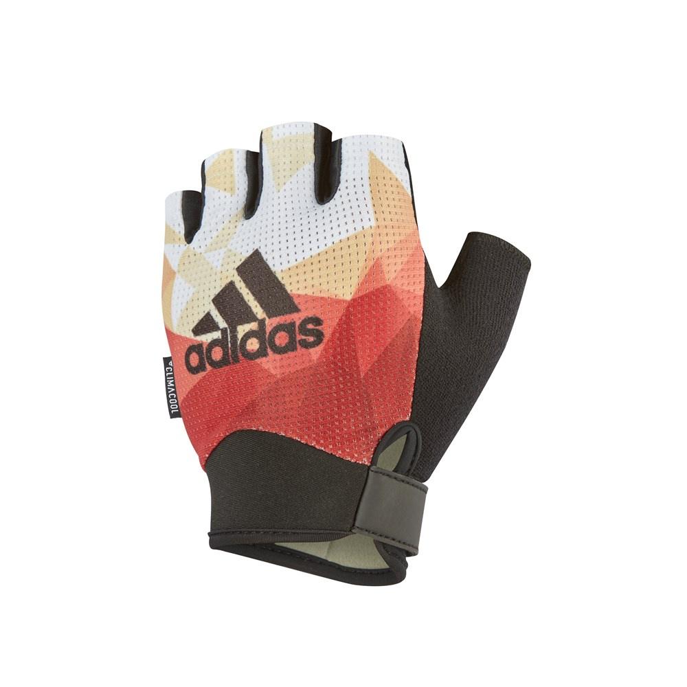 Перчатки для фитнеса Adidas ADGB-13233, оранжевый перчатки adidas для фитнеса белые размер m adgb 12322 wh
