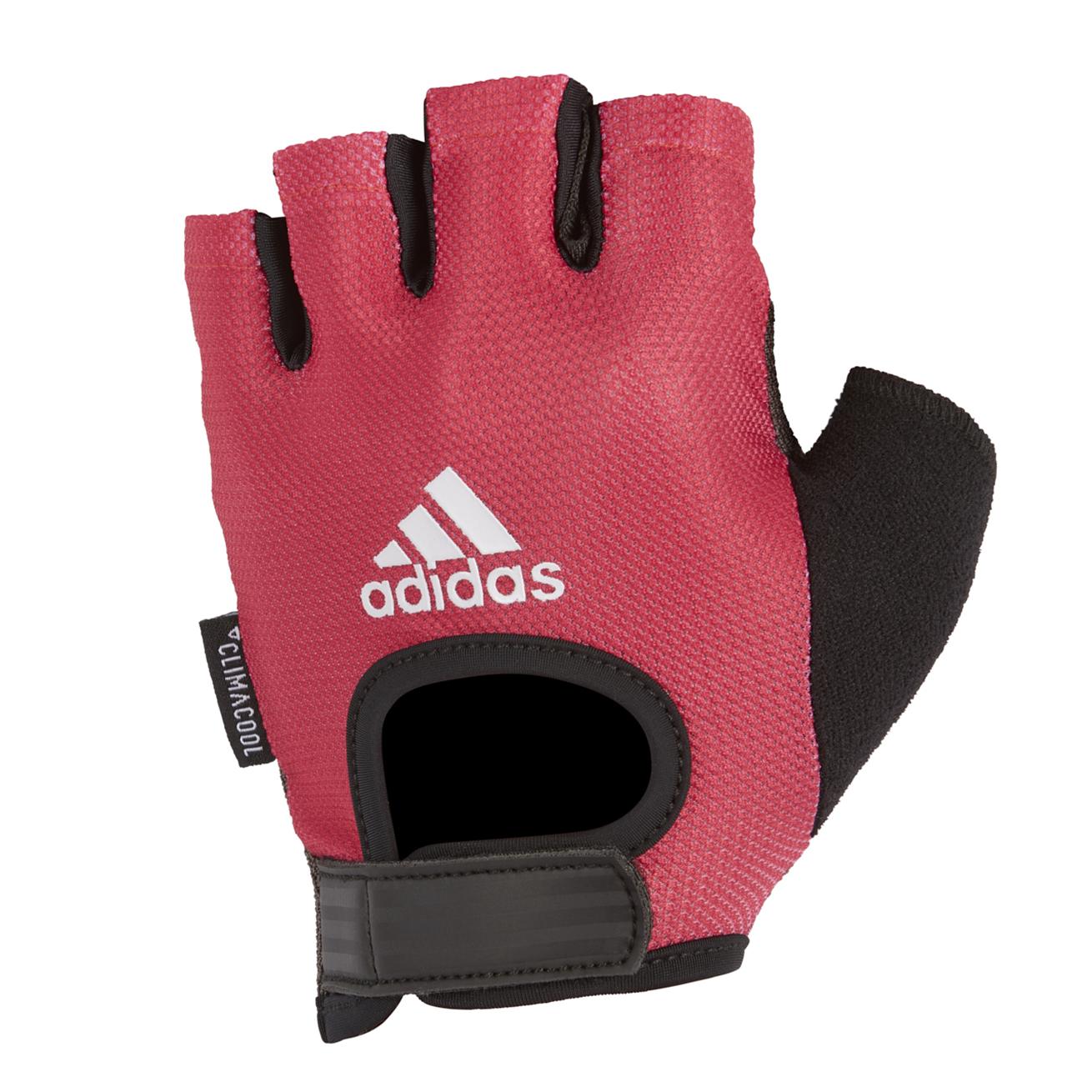 Перчатки для фитнеса Adidas ADGB-13224, розовый перчатки adidas для фитнеса белые размер m adgb 12322 wh