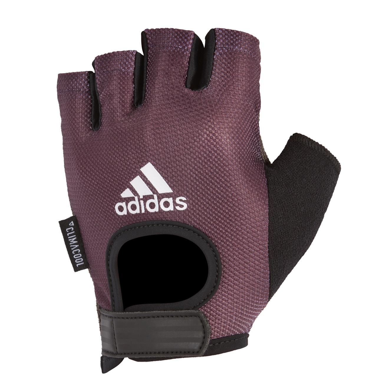 Перчатки для фитнеса Adidas ADGB-13215, фиолетовый перчатки adidas для фитнеса белые размер m adgb 12322 wh