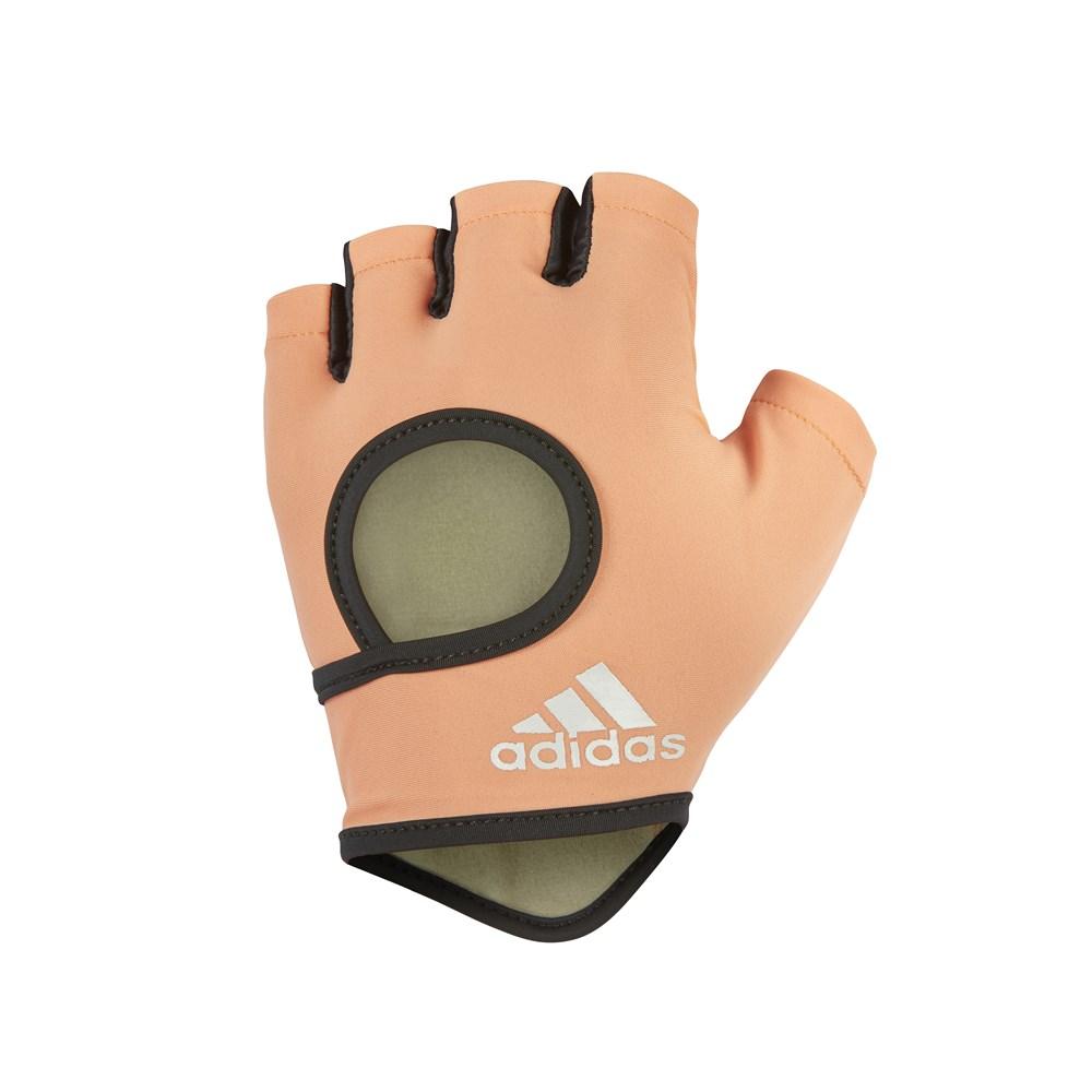 Перчатки для фитнеса Adidas ADGB-12633, коралловый перчатки adidas для фитнеса белые размер m adgb 12322 wh