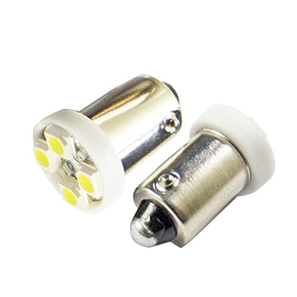цена на Лампа автомобильная Юпитер светодиодная (4 диодов) 12В4W с цоколем, габаритная (к-т 2шт), белый