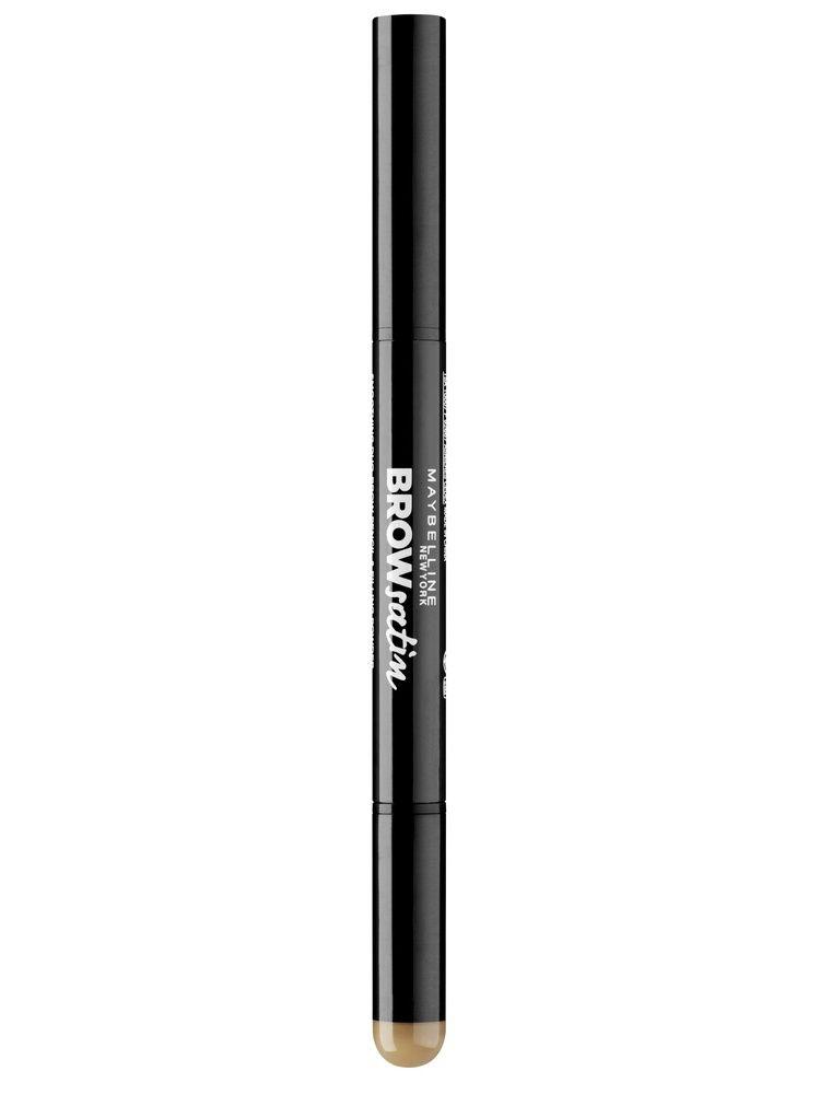 Набор декоративной косметики Alvin Dor Дуэт для бровей карандаш+пудра Brow Satin Тон 01 medium brown