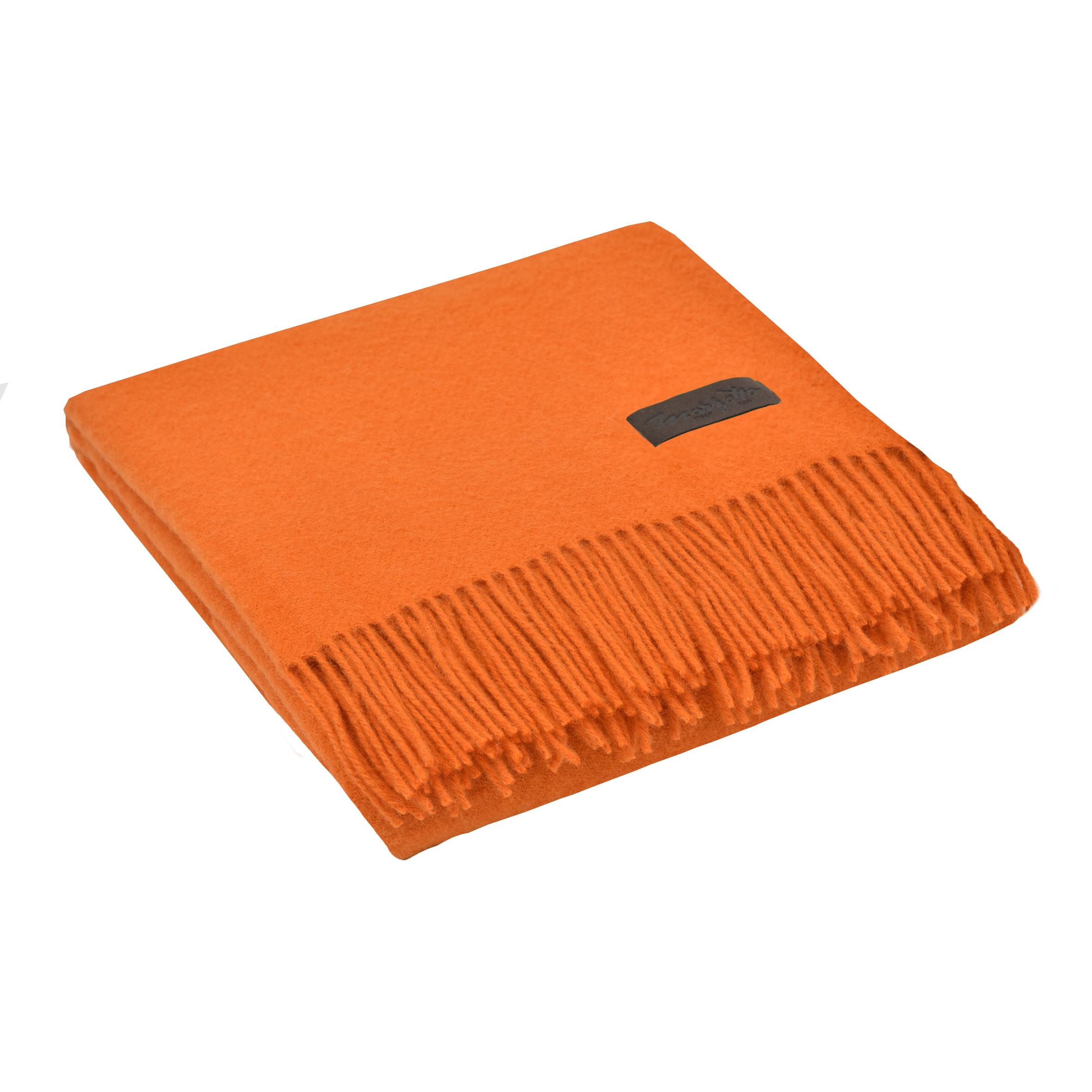 Плед MARZOTTO DALIA, оранжевый плед marzotto paola 130х170 см