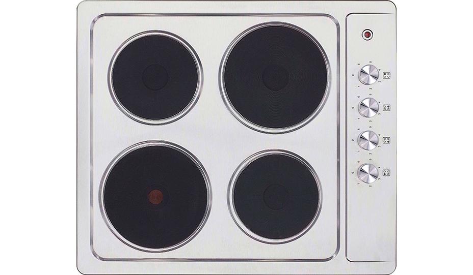 Варочная панель MBS PE-610, серебристый набор посуды babybjorn 2 тарелки 2 ложки 2 вилки в упаковке розовый лиловый