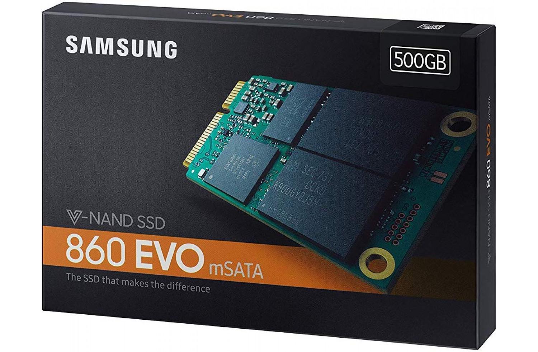 SSD 500GB Samsung 860 EVO mSata, MZ-M6E500BW sa 166 ultra thin mini pci e msata ssd to 2 5 inch sata 3 0 hdd case adapter for notebook hard disk