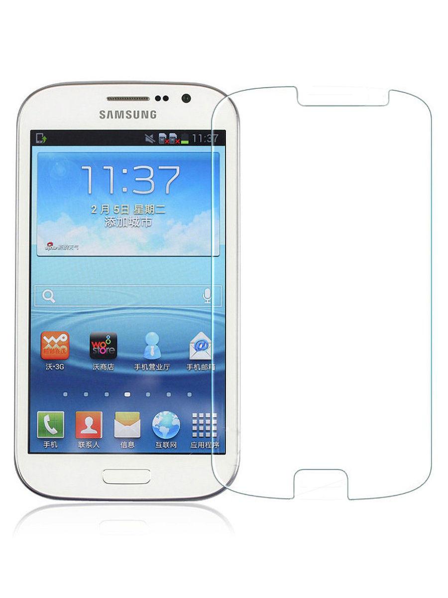 Защитное стекло With love. Moscow 2D для Samsung Galaxy S3, прозрачный
