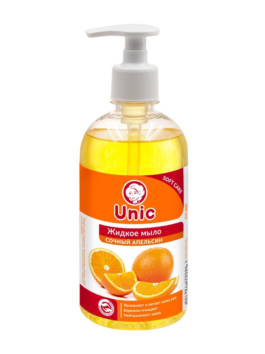 """Жидкое мыло UNIC """"Сочный апельсин"""""""