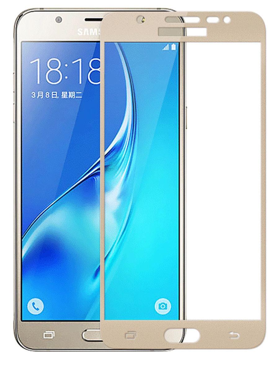Защитное стекло UVOO Full screen для Samsung Galaxy J5 prime, золотой цена