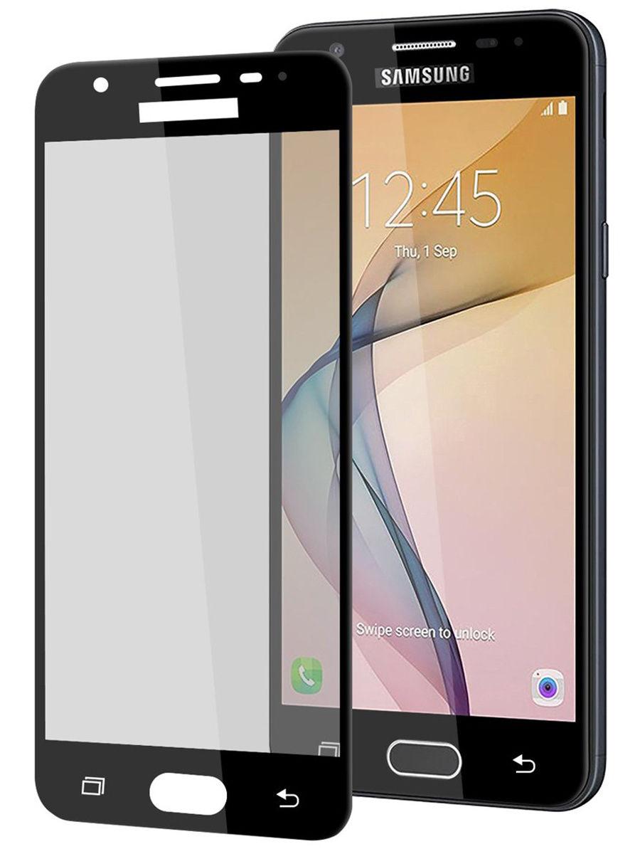 Защитное стекло UVOO Full screen для Samsung Galaxy J5 prime, черный защитное стекло samsung galaxy j5 2017 г
