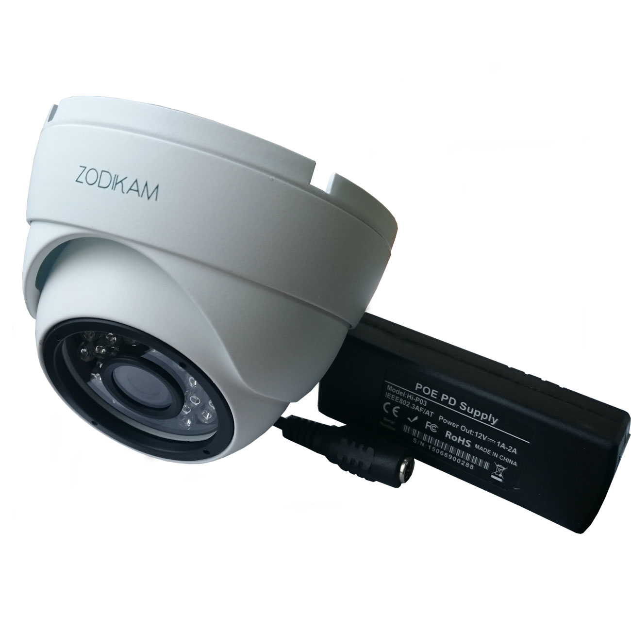 IP камера Zodikam 3242-P, белый