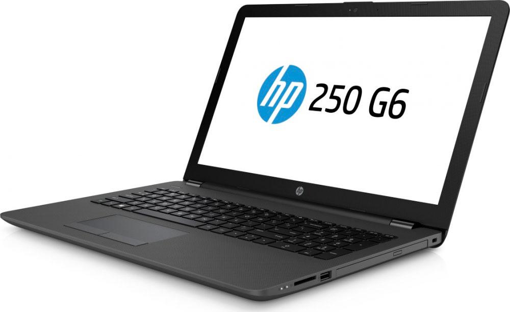 Ноутбук HP 250 G6 5PP07EA, темно-серый ноутбук hp 250 g6 3qm25ea