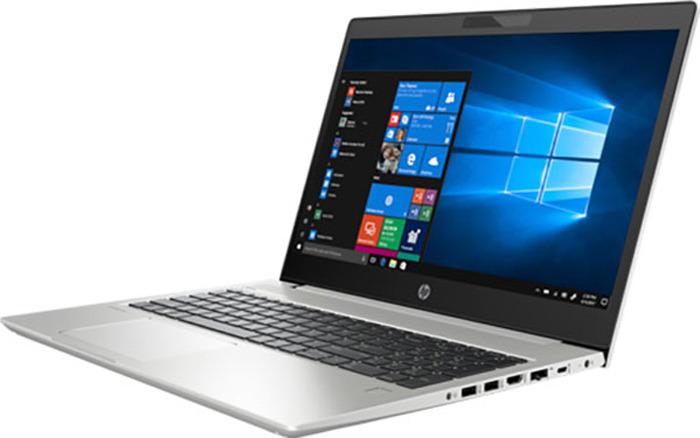 Ноутбук HP ProBook 450 G6, 5PP79EA, 15.6, серебристый hp probook 430 g4 [y7z48ea] silver 13 3 fhd i3 7100u 4gb 128gb ssd w10pro