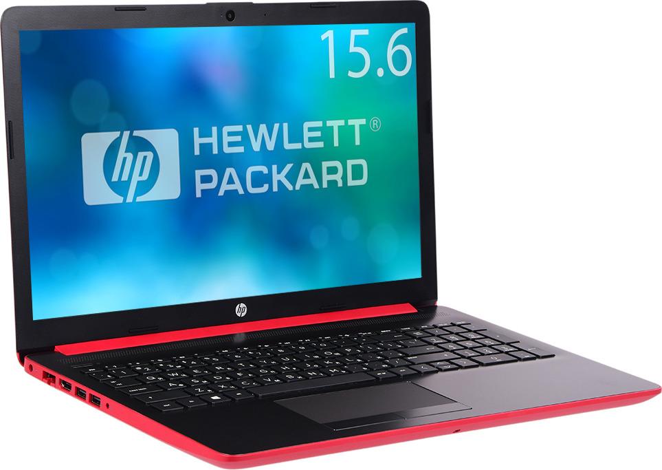 Ноутбук HP 15-da0188ur 4MT69EA, красный ноутбук hp 15 da0188ur