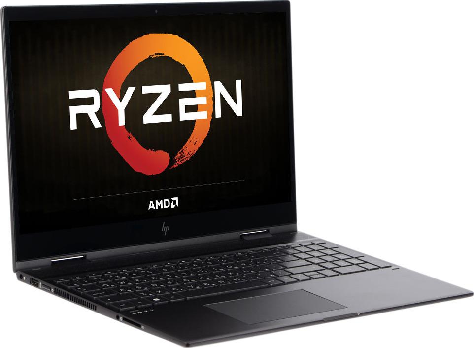 Ноутбук HP Envy x360 15-cp0000ur 4TU02EA, серебристый ноутбук hp envy 15 ae105ur p0g46ea p0g46ea