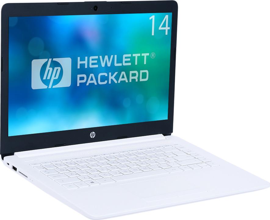14 Ноутбук HP 14-ck0011ur 4KA23EA, белый асус ноутбук