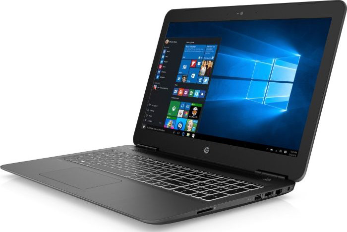 Ноутбук HP Pavilion 15-bc423ur 4GT08EA, черный ноутбук hp pavilion 15 cs0023ur 4ju98ea core i5 8250u 4gb 1tb 16gb optane nv mx150 2gb 15 6 fullhd win10 rose gold