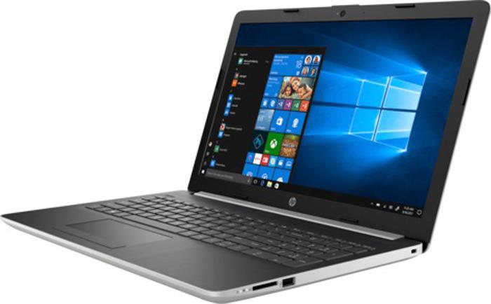 15.6 Ноутбук HP 15-da1013ur 5SW24EA, серебристый ноутбук