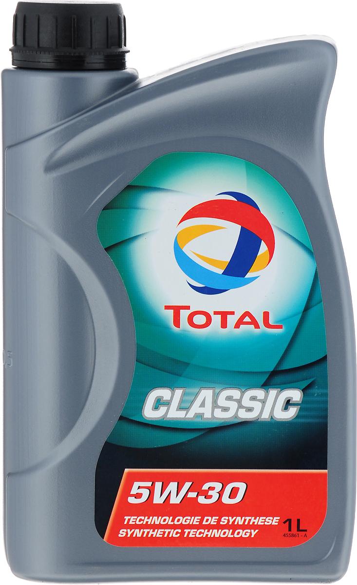 Моторное масло Total Classic 5W30, синтетическое, 1 л моторное масло polaris 2876244