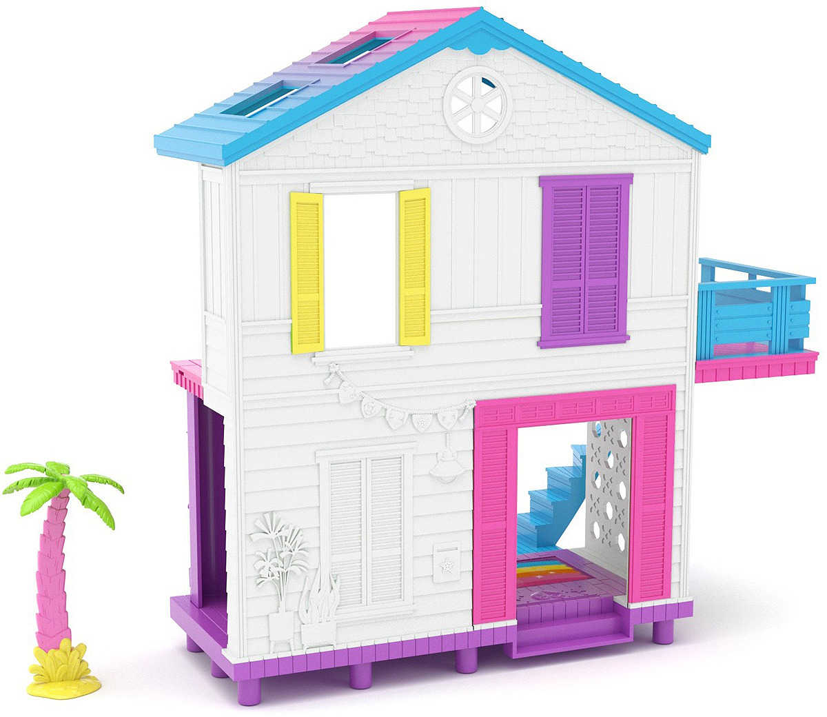 Игровой набор Happy Places Пляжный домик, 56860