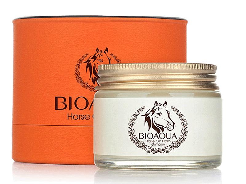 Крем для ухода за кожей Bioaqua Крем с лошадиным жиром Bioaqua