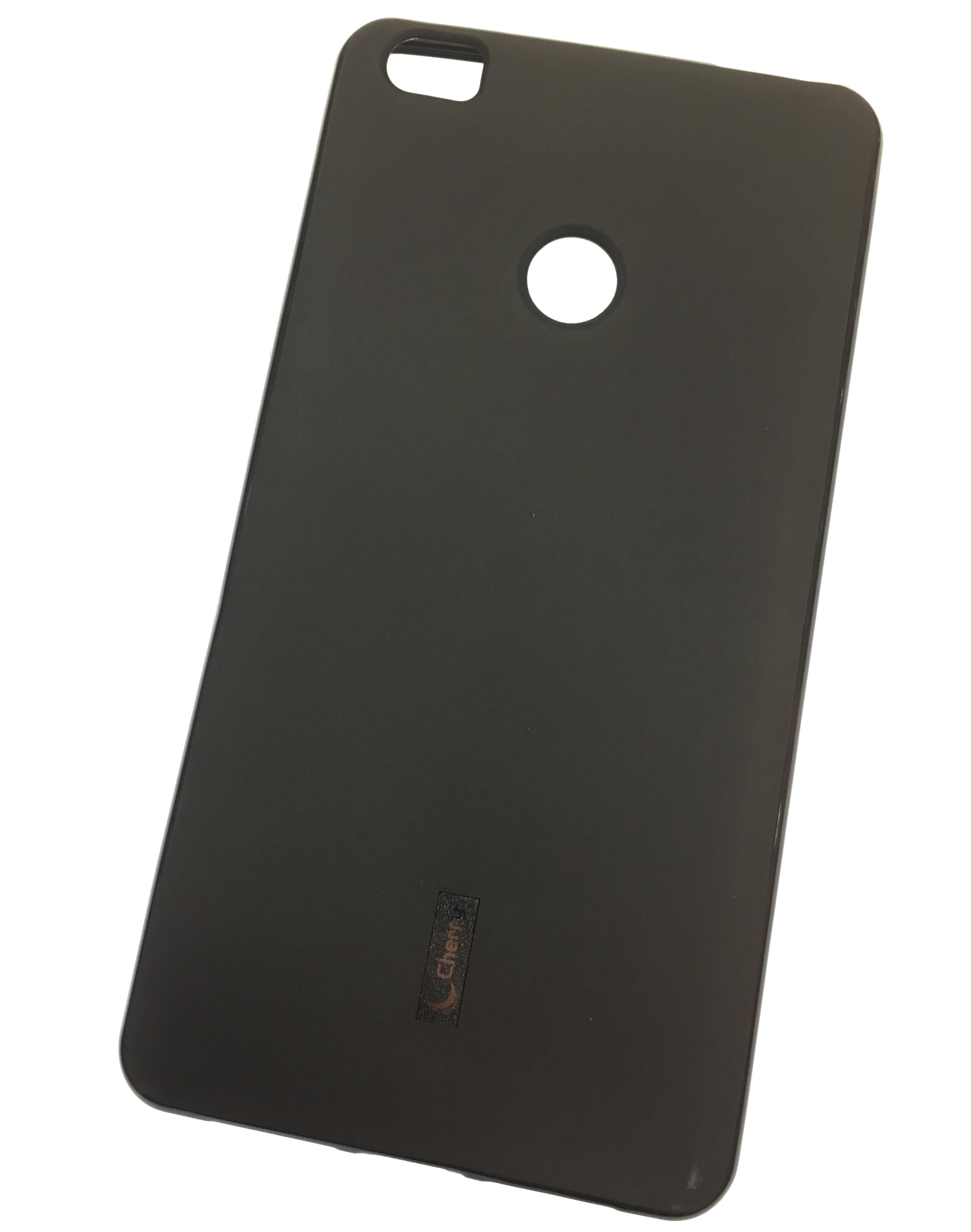 Чехол для сотового телефона Cherry Xiaomi Mi Max Накладка резиновая с пленкой в комплекте, черный