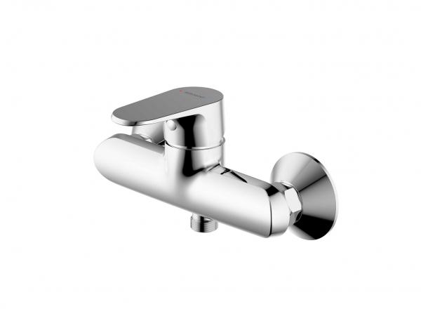 Смеситель Bravat для душа Alfa F9120178CP-01, серебристый смеситель для душа bravat drop f94898c