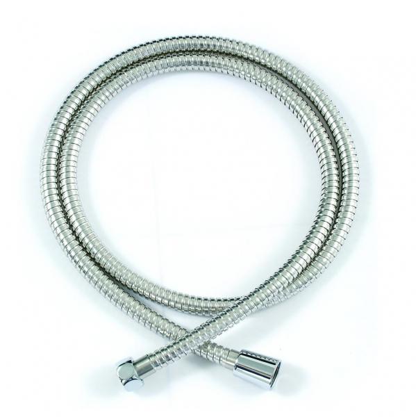 Душевой шланг Bravat P7234CP-RUS, серебристый душевой шланг bravat p7234cp rus серебристый
