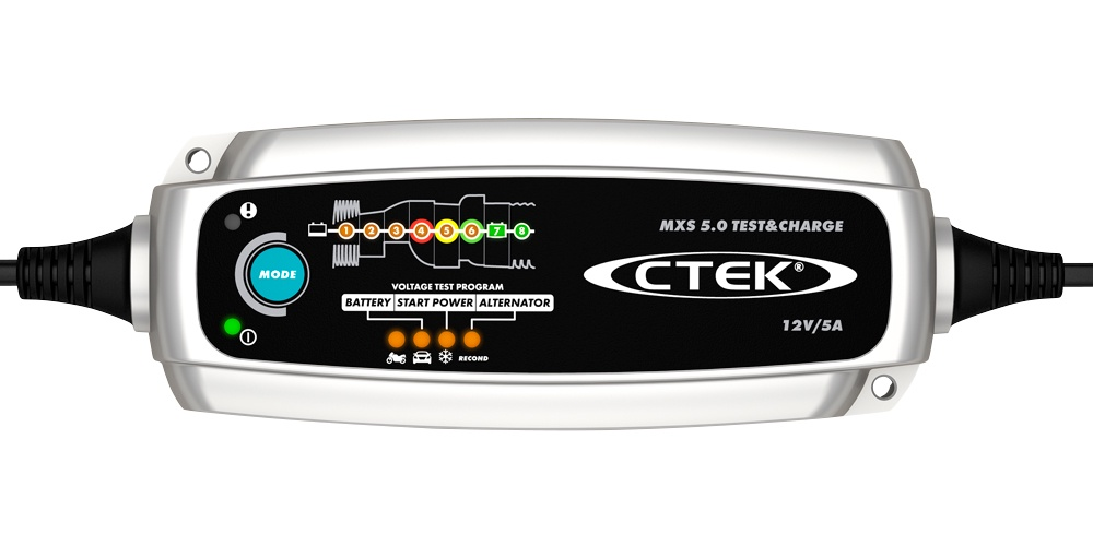 Автомобильное зарядное устройство CTEK MXS 5.0 TEST & CHARGE