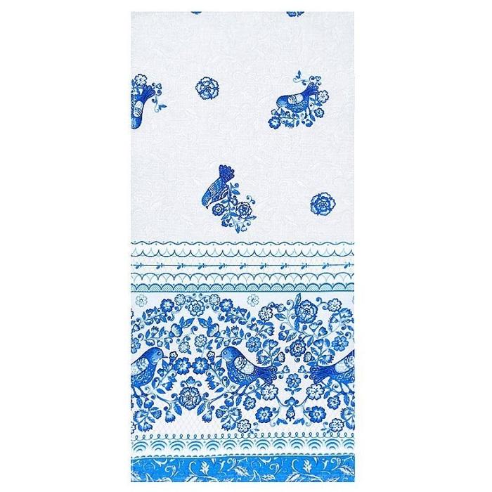 Полотенце кухонное ТМ Вселенная Текстиля CAT00036091, голубой