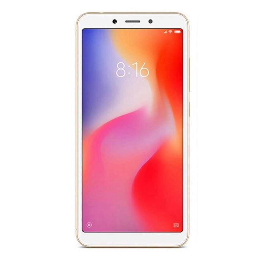 Смартфон Xiaomi Redmi 6 3/32GB gold смартфон xiaomi redmi 6 3 32gb blue