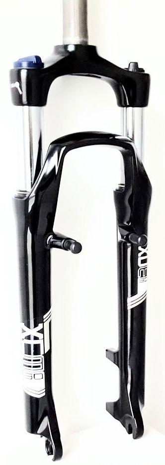 Вилка амортизационная, Suntour SF13-XCM30-LO для 26, черная, под V-brake и диск, ход-100 мм цена