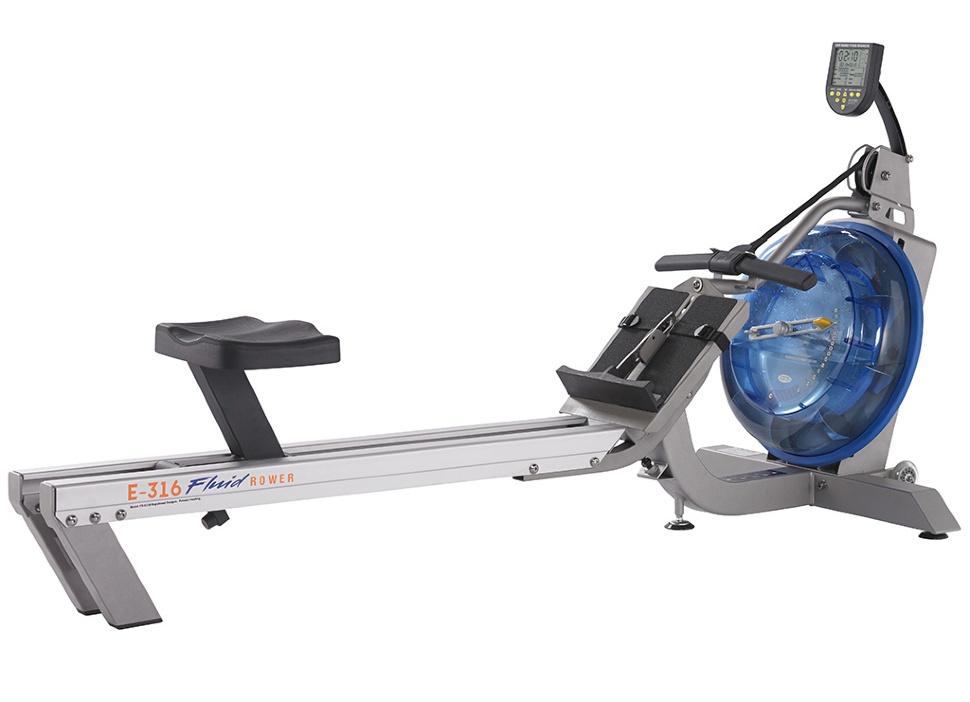 Гребной тренажер First Degree Fitness FR-E316s, серебристый